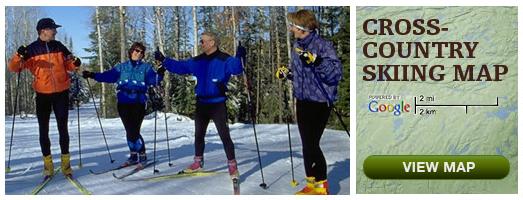 ontario cross country ski trails