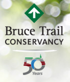 bruce trail conservancy 50th year logo