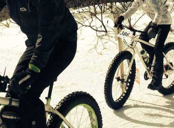 fat biking at hardwood ski and bike