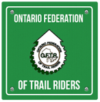ontario federation of trail riders logo