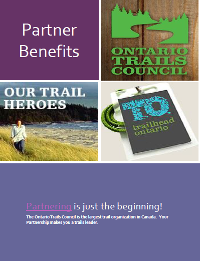 ontario trails partnership benefits