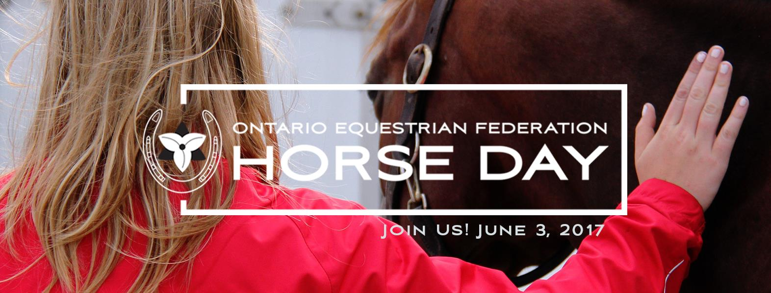 ontario equestrian federation horse day