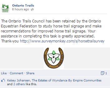 ontario horse survey