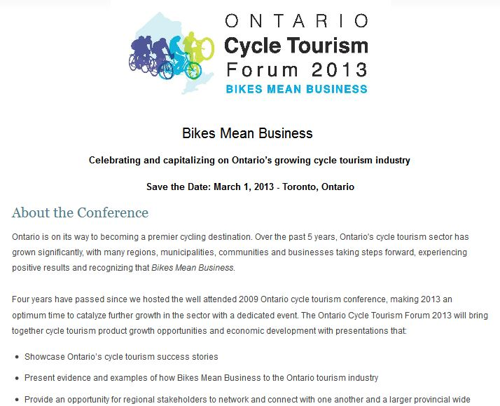 ontario cycling forum