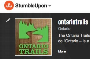 ontario trails on stumbleupon