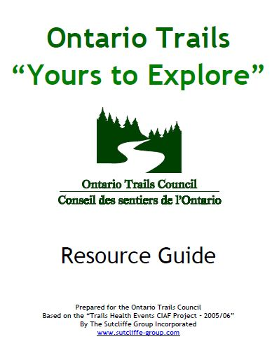 ontario trails your to explore