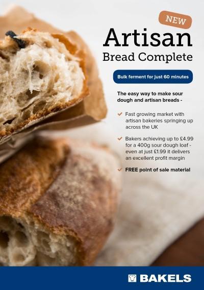 Bakels' 'Artisan Bread Complete'