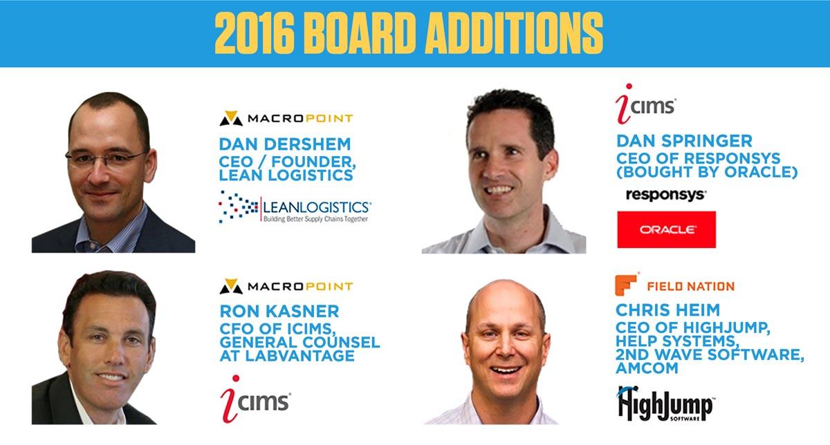 2016 Board Additions