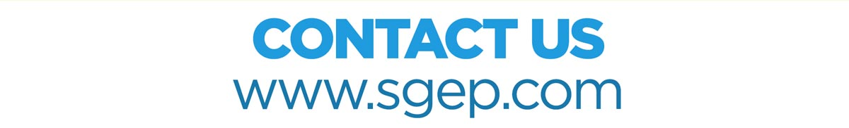 Contact Us at www.sgep.com