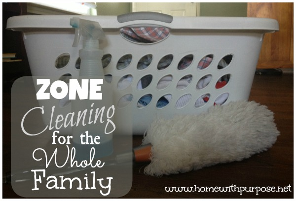 Zone Cleaning for the Whole Family
