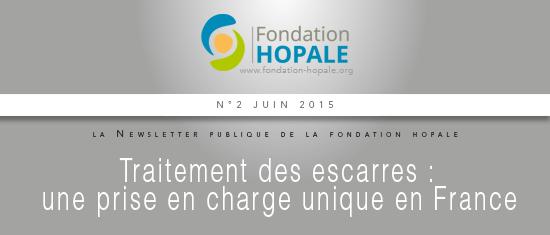 Fondation Hopale - Traitement des escarres