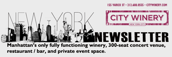 Newsletter Header.1 City Winery International Pairing Series