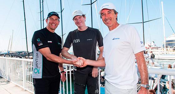 Owners Doug DeVos, Niklas Zennström and Alberto Roemmers