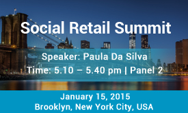 Social Retail Summit | January 15, 2015 | Brooklyn, New York City