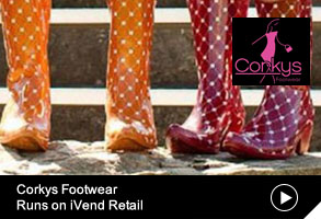 Corkys footwear Runs on iVend Retail