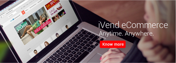 iVend eCommerce - Anytime. Anywhere