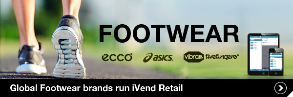 Global Footwear Brands run iVend Retail