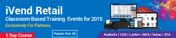 iVend Retail Classroom Based Training Events for 2015
