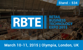 Retail Business Technology Expo 2015 - Olympia, London, UK