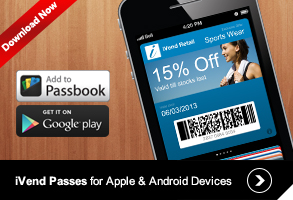 iVend Passes for Apple & Android Devices
