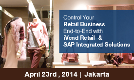 Control your retail business end-to-end with iVend Retail & SAP integrated solutions