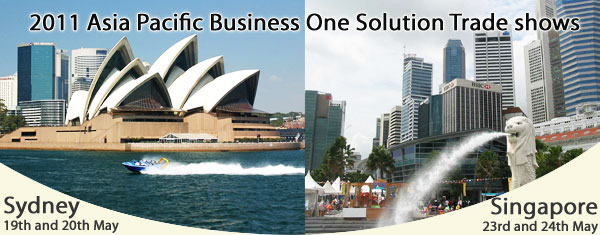 2011 Asia-Pacific SAP Business One Solution Trade shows