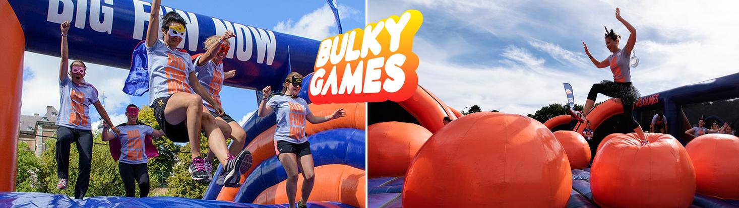 Communiqué de Presse : Bulky Games rempile pour une 2ème saison avec 4 nouveaux obstacles