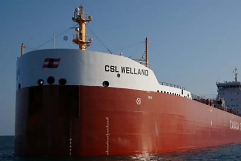 The CSL Welland ship