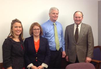 photo of members with legislators