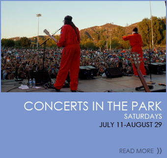 Concerts in the Park - Saturdays July 11-August 29