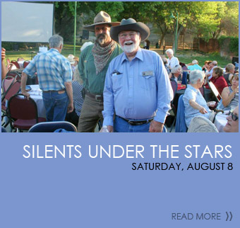 Silents Under The Stars - Saturday, August 8