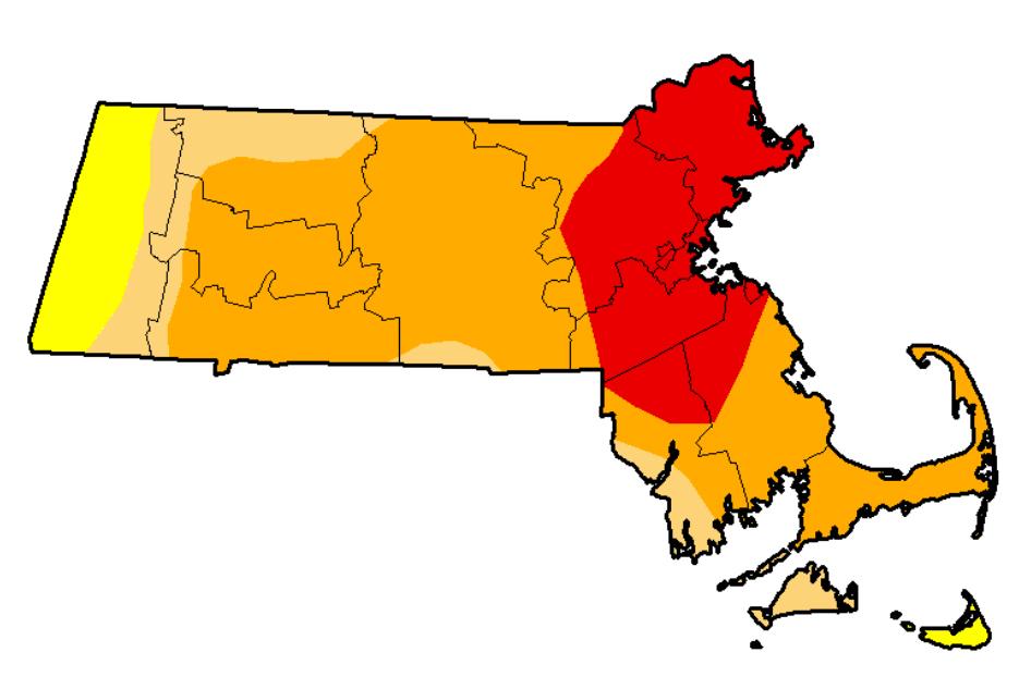 MA drought map 8-30