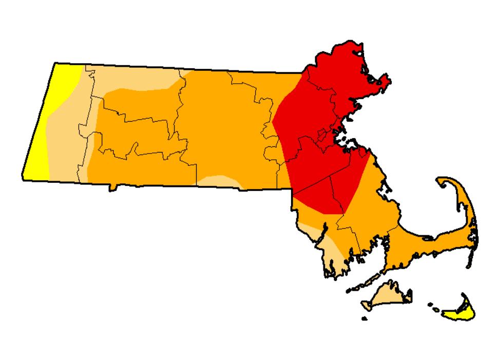 MA Drought Map 9-6-16