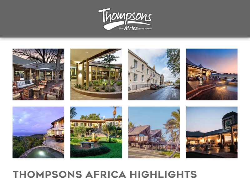 Sensational South Africa, Tariff Changes and Special Deals - 25 October 2019