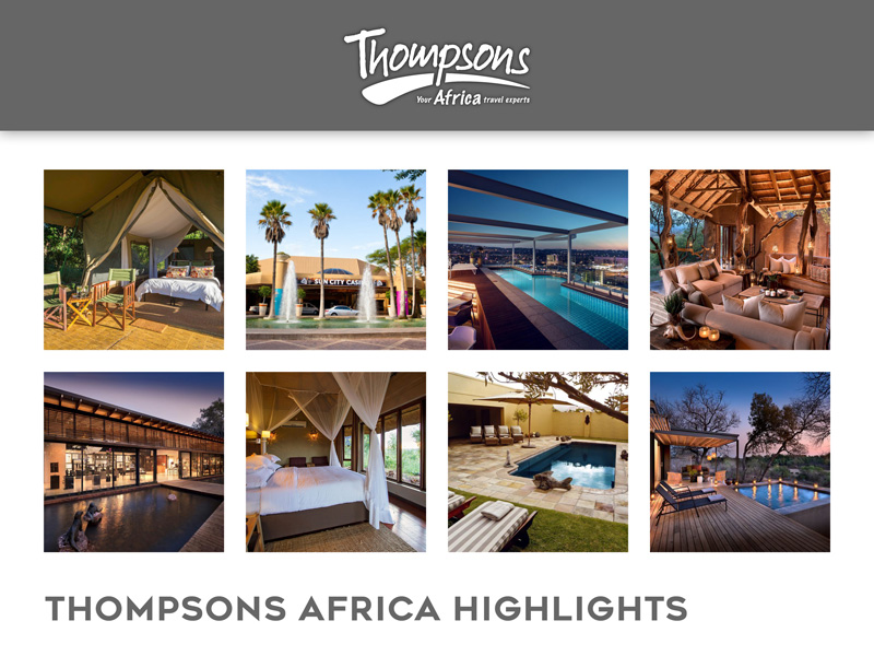 Thompsons Africa Product News, Tariff Changes and Special Deals - 09 November 2018