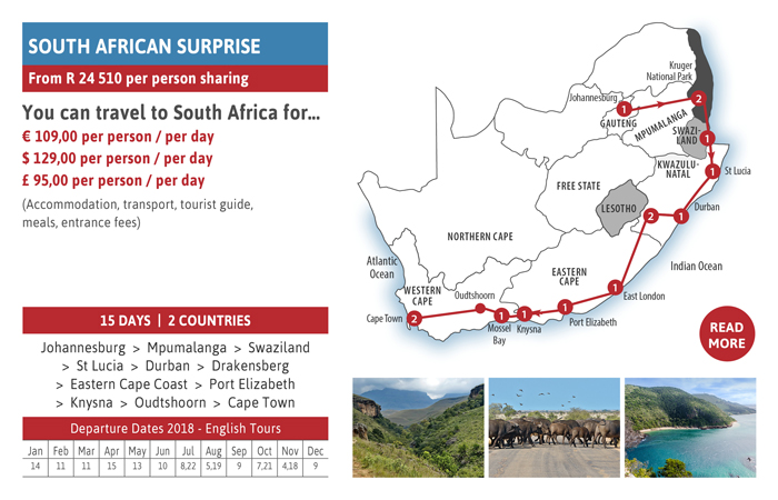 Did You Know….? Thompsons Africa brings you South African Surprise...