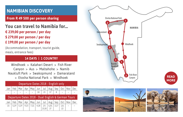 Did You Know….? Thompsons Africa brings you Namibian Discovery...
