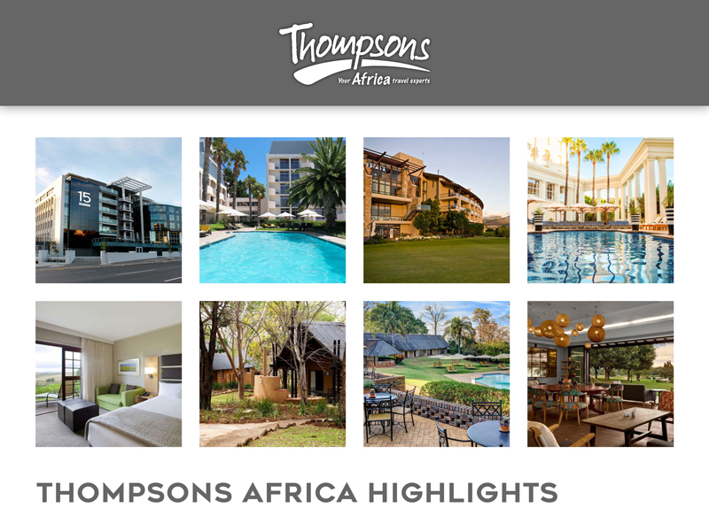 Sensational South Africa, Tariff Changes and Special Deals - 11 October 2019