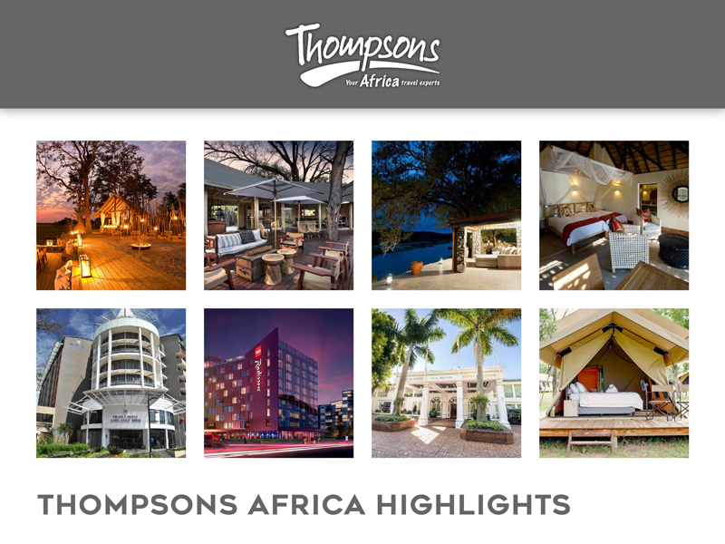 Sensational South Africa, Tariff Changes and Special Deals - 08 November 2019