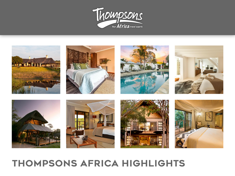 Sensational South Africa, Specials and Tariff Changes - 24 January 2020