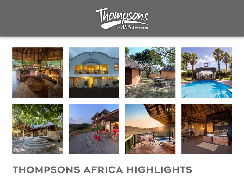 Sensational South Africa, Tariff Changes and Special Deals - 01 November 2019