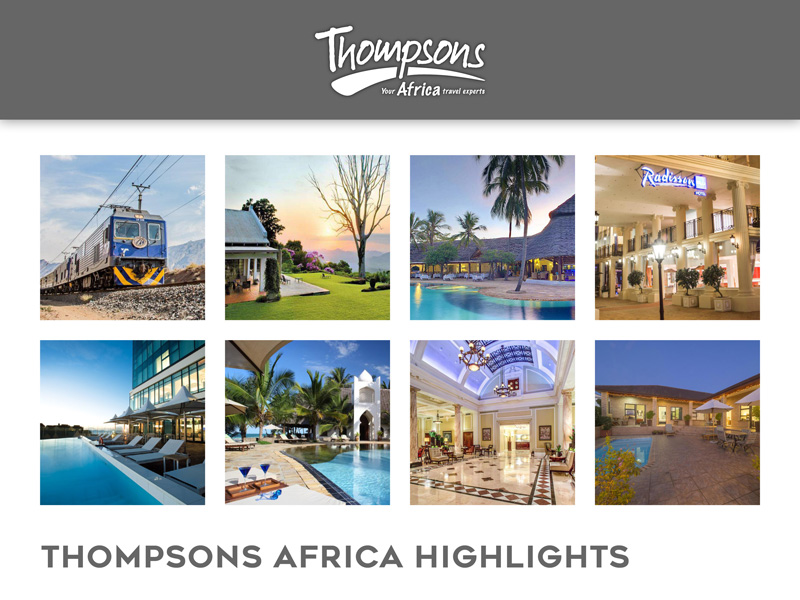 Thompsons Africa Product News, Tariff Changes and Special Deals - 02 November 2018