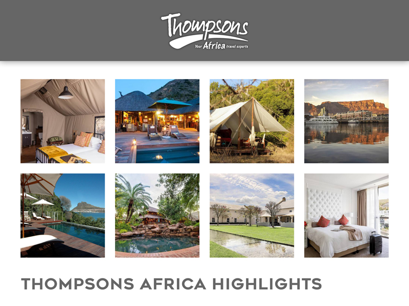 Sensational South Africa, Specials and Tariff Changes - 31 January 2020