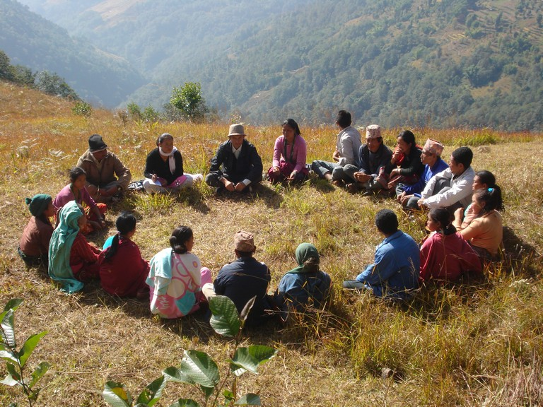 Hamlet level discussion is the key to manage forest sustainably, as plans begin from the ground level.