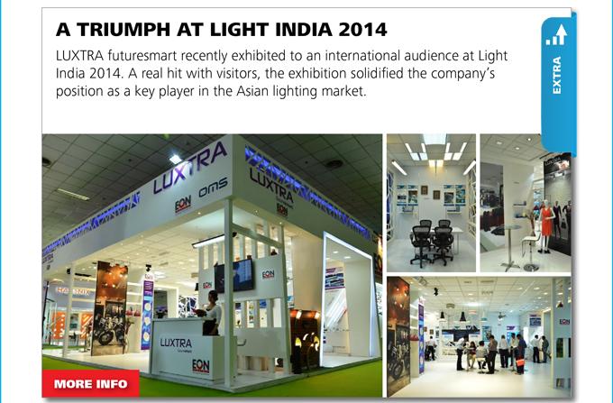 EXTRA - A TRIUMPH AT FAIR LIGHT INDIA 2014