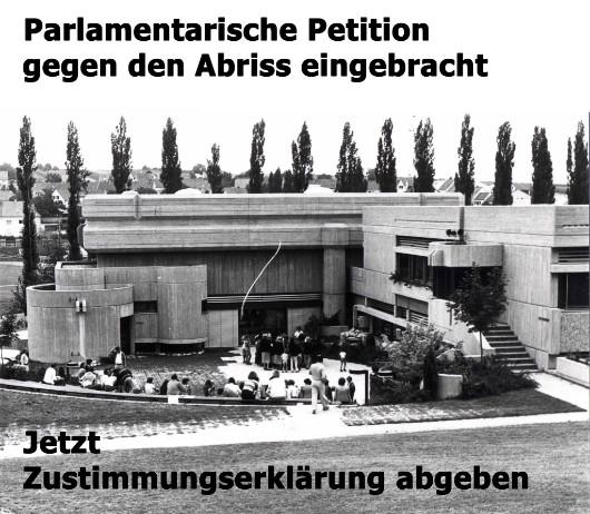 Herwig Udo Graf: Kulturzentrum Mattersburg, Bild: Facebookseite der Initiative Rettet das Kulturzentrum Mattersburg