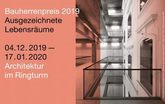 Plakat Bauherrenpres 2019