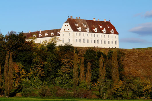 Schloss Juliusburg, Stetteldorf, am Rand des Wagram
