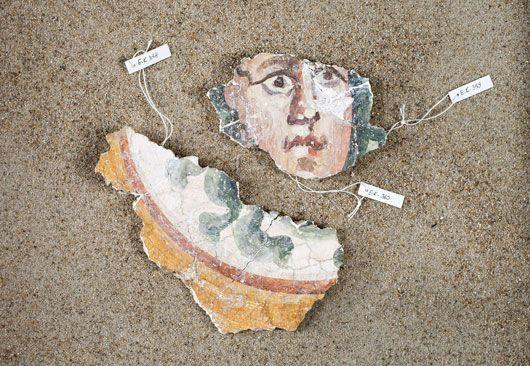 Fragment eines Medaillons mit Medusa 3. Jahrhundert n. Chr.