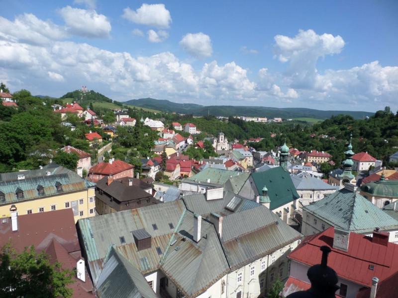Banska Stiavnica Panorama